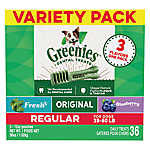 GREENIES® Regular Dental Dog Treat - Variety Pack