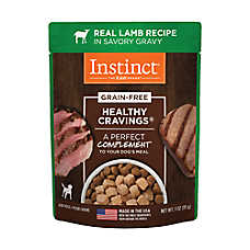 Nature's Variety® Instinct® Healthy Cravings Dog Food Topper - Natural, Grain Free, Lamb