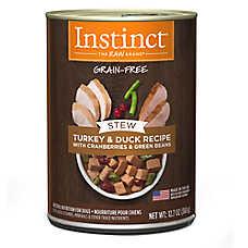 Nature's Variety® Instinct® Grain Free Stew Dog Food - Natural, Turkey & Duck