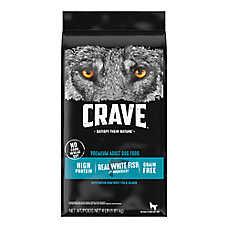 Crave Adult Dog Food - Grain Free, Salmon & Ocean Fish