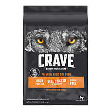 Crave Adult Dog Food - Grain Free, Chicken