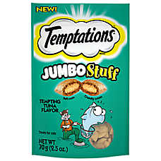WHISKAS® TEMPTATIONS® Jumbo Stuff Cat Treat - Tuna