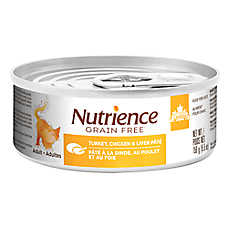 Nutrience® Grain Free Adult Cat Food - Natural, Chicken, Turkey & Liver