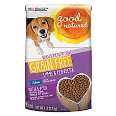 Good Natured™ Grain Free Adult Dog Food - Natural, Lamb & Pea