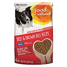 Good Natured™ Grain Free Adult Dog Food - Natural, Beef & Brown Rice