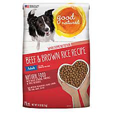 Good Natured™ Grain Free Adult Dog Food - Natural, Beef & Brown Rice