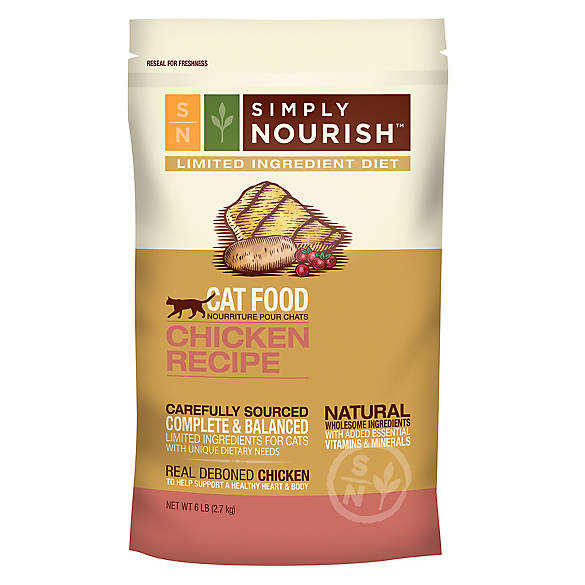 Simply Nourish™ Limited Ingredient Diet Cat Food - Natural ...