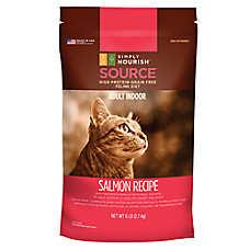 Simply Nourish™ SOURCE Indoor Adult Cat Food - Natural, Grain Free, Salmon