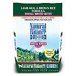 Natural Balance Limited Ingredient Diets Small Breed Dog Food - Lamb Meal & Brown Rice