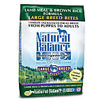 Natural Balance Limited Ingredient Diets Large Breed Dog Food - Lamb Meal & Brown Rice