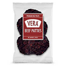 Vera Premium Beef Patties Dog Treat