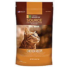 Simply Nourish™ SOURCE Indoor Adult Cat Food - Natural, Grain Free, Chicken
