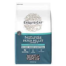 Exquisicat 174 Naturals Paper Cat Litter Natural Multi Cat
