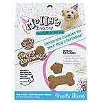 Molly's Barkery Birthday Decorating Cookie Kit Dog Treat - Vanilla