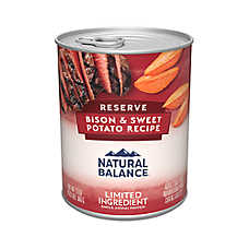 Natural Balance Limited Ingredient Diets Dog Food - Grain Free, Buffalo & Sweet Potato