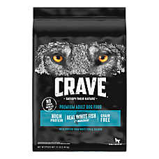 Crave Adult Dog Food - Grain Free, Salmon & Ocean Fish