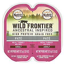 NUTRO™ Wild Frontier Adult Cat Food - Natural, Grain Free, Turkey
