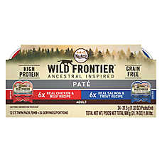 NUTRO™ Wild Frontier Adult Cat Food - Natural, Grain Free, Multi-Pack, 12ct