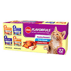 Grreat Choice® Poultry Variety Pack Cat Food - 32ct