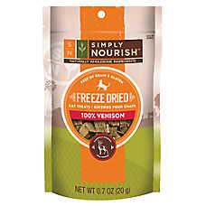 Simply Nourish™ Freeze Dried Venison Liver Cat Treat - Natural