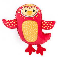 Top Paw® 2 Wild Bird Dog Toy - Plush, Squeaker