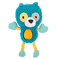 Top Paw® 2 Wild Bear Dog Toy - Plush, Rope