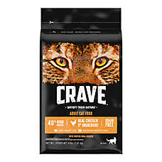 Crave Adult Cat Food - Grain Free, Chicken
