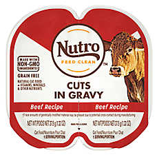 NUTRO™ PERFECT PORTIONS™ Adult Cat Food - Beef