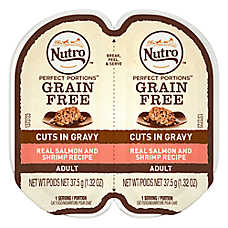 NUTRO™ PERFECT PORTIONS™ Adult Cat Food - Salmon & Shrimp