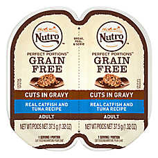NUTRO™ PERFECT PORTIONS™ Adult Cat Food - Catfish & Tuna