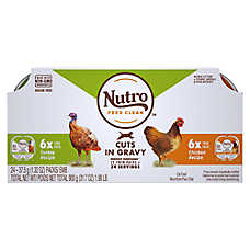 NUTRO™ PERFECT PORTIONS™ Adult Cat Food - Multipack, Chicken & Turkey