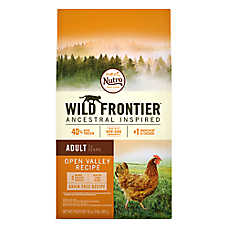 NUTRO™ Wild Frontier Adult Cat Food - Natural, Grain Free, Open Valley Recipe