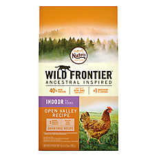 NUTRO™ Wild Frontier Indoor Adult Cat Food - Natural, Grain Free, Open Valley Recipe