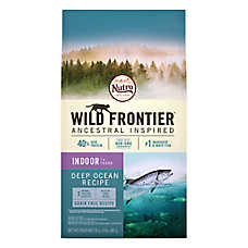 NUTRO™ Wild Frontier Indoor Adult Cat Food - Natural, Grain Free, Deep Ocean Recipe