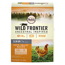NUTRO™ Wild Frontier Senior Cat Food - Natural, Grain Free, Open Valley Recipe
