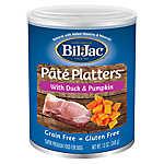 Bil-Jac® Pate Platters Dog Food - Grain Free, Gluten Free, Duck & Pumpkin