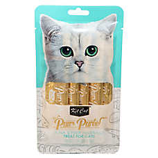 Kit Cat Purr Puree Cat Treat - Natural, Grain Free, Tuna & Fiber