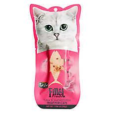 Kit Cat Fillet Fresh Cat Treat - Natural, Grain Free, Tuna & Smoked Fish