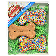 Foppers Confetti Bones Dog Treat - Peanut