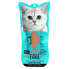 Kit Cat Fillet Fresh Cat Treat - Natural, Grain Free, Tuna & Fiber