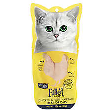 Kit Cat Fillet Fresh Cat Treat - Natural, Grain Free, Chicken & Fiber