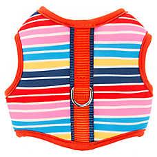 Top Paw® Rainbow Stripes Comfort Dog Harness