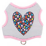 Top Paw® Heart Stripe Vest Dog Harness