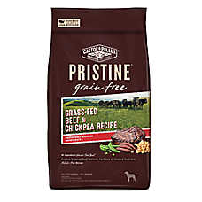 Castor & Pollux PRISTINE™ Grain Free Dog Food - Grass-Fed Beef & Chickpea