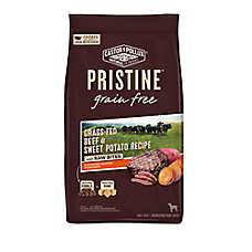 Castor & Pollux PRISTINE™ Grain Free with Raw Bites Dog Food - Grass-Fed Beef & Sweet Potato