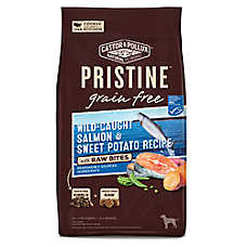 Castor & Pollux PRISTINE™ Grain Free with Raw Bites Dog Food - Salmon & Sweet Potato