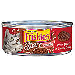 Friskies® SauceSations Cat Food - Beef in Garden Sauce