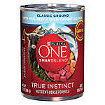 Purina ONE® Smartblend® True Instinct Adult Dog Food - Grain Free, Classic Ground