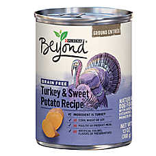 Purina® Beyond® Grain Free Dog Food - Natural, Turkey & Sweet Potato, Ground Entree
