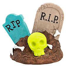 Top Fin® RIP Sign Aquarium Ornament